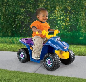 Fisher Price Power Wheels Lil Quad