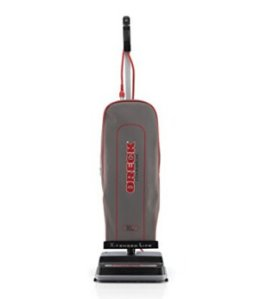 Oreck Commercial U2000RB2L-1 LEED-Compliant Upright Vacuum with Endurolife Belt, 2-Speed Switch