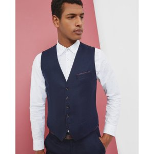 Ted Baker AUSWAI Twill vest