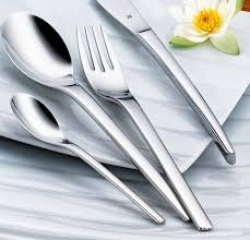 Lowest price! $68.99 WMF Nordic 30-Piece Flatware Set, Silver