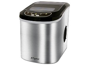 Keyton K-ICEMAKERSS Stainless Portable Ice Maker - 26 lb.
