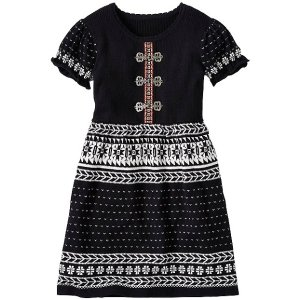 Girls Snö Happy Dress With Front Clasps | Sale Girls Dresses