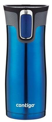 Contigo Autoseal West Loop Stainless Steel Travel Mug with Easy Clean Lid, 16-Ounce, Monaco