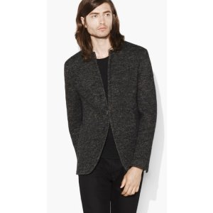 Notch Lapel Soft Jacket