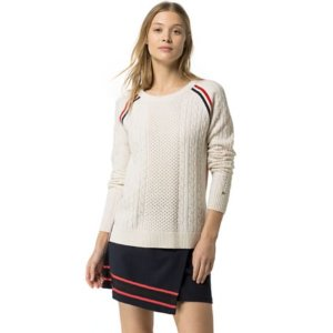 Wool Cable Mix Sweater