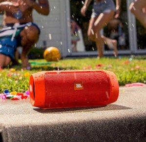 $89.99 JBL Charge 2+ Splashproof Portable Bluetooth Speaker