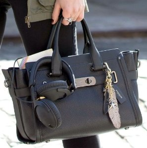 Up to 64% Off + Extra 10% Off COACH Swagger Leather Handbags @ 6PM