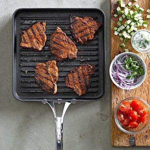 Calphalon Elite Nonstick Square Grill Pan | Williams Sonoma