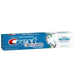 Complete Multi-Benefit Extra Whitening Clean Mint Toothpaste 6.2oz