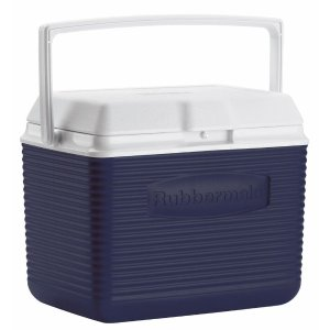 $9.97 10 Qt. Blue Ice Chest Cooler