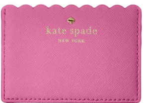 kate spade new york Cape Drive Credit Card Holder,Soft Aqua/Mint Splash,One Size: Clothing