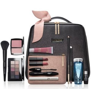 Beauty Box for $59.50($342 value)+Up to $40 macys money with Any Lancome Purchase @ macys.com