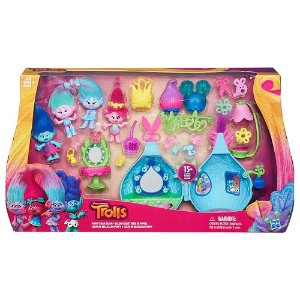 2016 Black Friday! $16.99 Dreamworks Trolls Poppy's Hair Salon by Hasbro