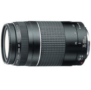 $99Canon EF 75-300mm F4-5.6 III Lens