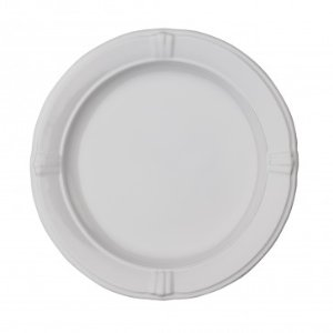 Anchor Home Annapolis Pearl White Salad Plate, Set of 4, 8.75