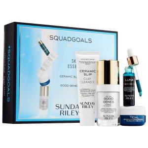 SUNDAY RILEY 祛痘+美白+去角质套装,新晋网红护肤产品!