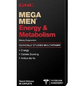$8.99 GNC Mega Men Energy & Metabolism 90 Caplets