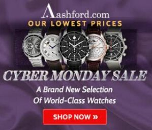 Cyber Monday event! Up to 90% off Ashford's watches