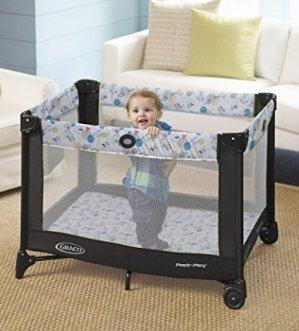 史低价!$33.99销量冠军!Graco Pack 'n Play  易折叠婴儿游戏床