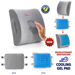 ZIRAKI 5 in 1 Memory Foam Cushion