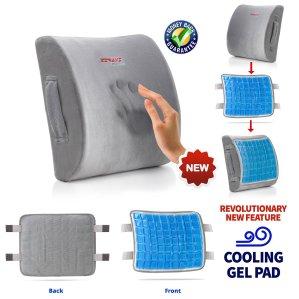 ZIRAKI 5 in 1 Memory Foam Cushion