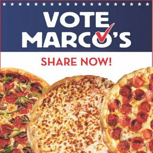 Free Pizza @ Marco's Pizza  On 11/8