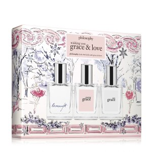 wishing you grace and love | fragrace set | philosophy holiday