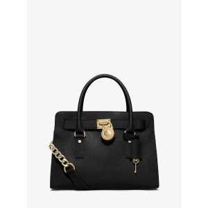 Hamilton Saffiano Leather Medium Satchel by Michael Kors | Spring - Free Shipping. On Everything