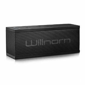 Save $18 Willnorn SoundPlus Dual-Driver Portable Bluetooth Speaker with Big Subwoofer