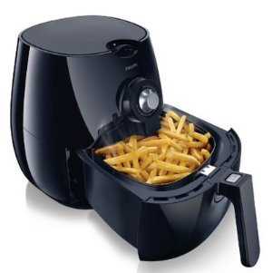 $159.95(reg.$249.00) Philips HD9220/26 AirFryer with Rapid Air Technology, Black