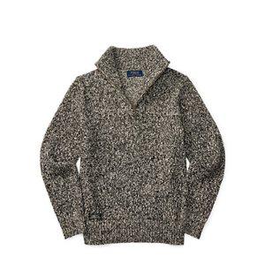 Marled Cotton Half-Zip Sweater - Sweaters � Big Kid (sizes 8-20) - RalphLauren.com