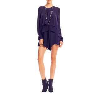 Nicole Miller Ruffled Layers Romper