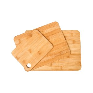 Micro World Three-Piece Bamboo Cutting Board Set | zulily
