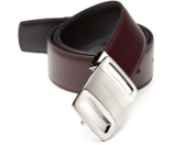 Salvatore Ferragamo Box Classic Adjustable & Reversible Vara Buckle Belt
