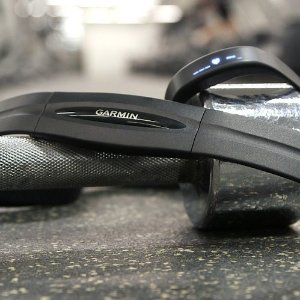 $24 Garmin Heart Rate Monitor