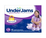 Amazon.com: Pampers Underjams Bedtime Underwear Girls, Large/X-Large Diapers, 42 Diapers: Health & Personal Care