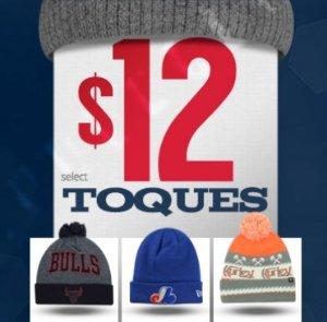 $12!lids 精选多款针织毛线帽低价促销