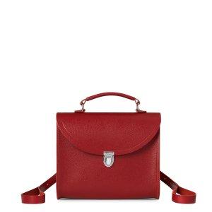Red Saffiano Poppy Bag | The Cambridge Satchel Company