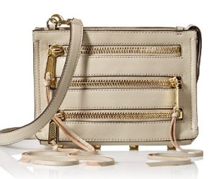 Rebecca Minkoff Moto 3-Zip Cross-Body