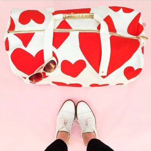 $32.4 BAN.DO 'Extreme Hearts' Canvas Duffel Bag On Sale @ Nordstrom