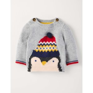 Logo Sweater 71531 Knitted Sweaters at Boden