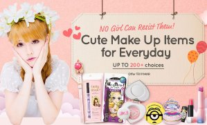 Up To 200+ ChoicesCute Make Up Items For Everyday @ Sasa.com