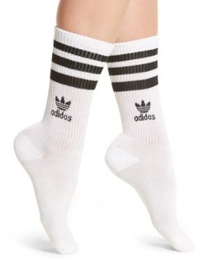 $8 adidas 3-Stripes Crew Socks @ Nordstrom
