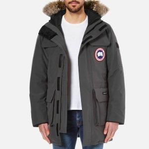 Canada Goose Men's Citadel Parka - Graphite - Free UK Delivery over £50