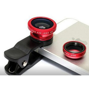 3-in-1 Clip on Smartphone Camera Lens Deal