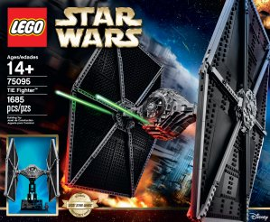 $139.99 LEGO Star Wars TIE Fighter 75095