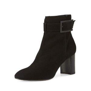 Aquatalia Vanie Weatherproof Ankle Boot, Black