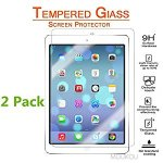 iPad 9.7 Inch Screen Protector Glass 2 Pack (iPad Pro 9.7/Air/Air2)