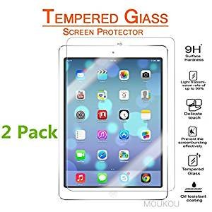 $3.99 iPad 9.7 Inch Screen Protector Glass 2 Pack (iPad Pro 9.7/Air/Air2)