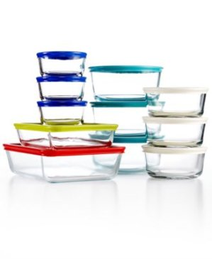 2016 Black Friday! $17.99 Pyrex 22 Piece Food Storage Container Set